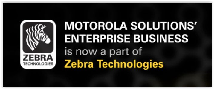 Motorola Solutions is now part of Zebra